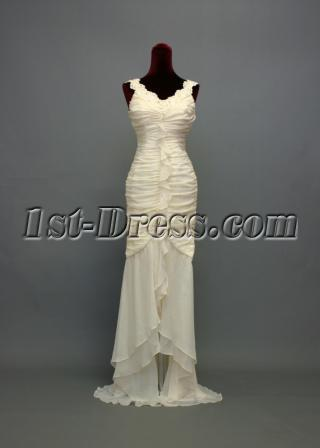 Ivory Military Prom Dress 2012 img_7298