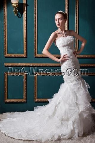 Junoesque Mermaid Wedding Dresses with Sweetheart Neckline IMG_0514
