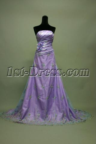 Lavender Graduation Dresses for High School IMG_7132