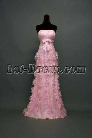 Light Pink Graduation Gown IMG_7193