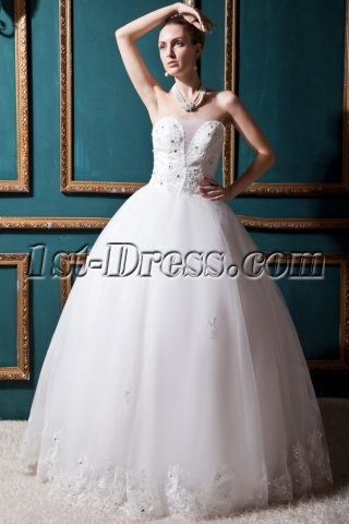 Nectarean Ball Gown Wedding Dress 2012 IMG_0320