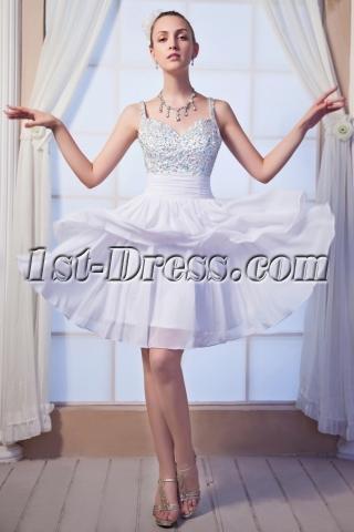 Open Back Short Sweet 16 Dress IMG_0198
