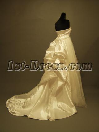Romantic Pregnancy Bridal Gowns P8310689