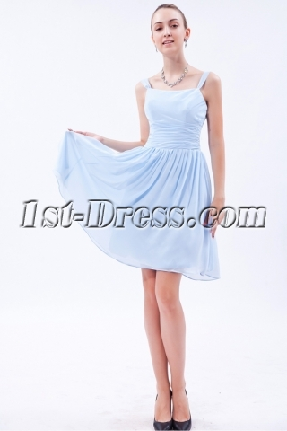 Simple Sky Blue Homecoming Dress img_9589