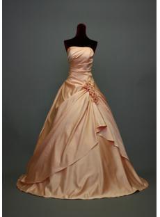 A-line Petite Princess Wedding Dresses IMG_7005