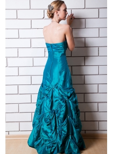 Best Hunt Green Romantic Quinceanera Dress IMG_0678