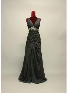 Black Illusion Back Prom Dress Plus Size IMG_7141