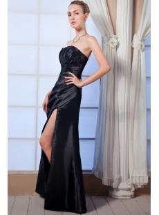 Black Split-front 2012 Prom Dress img_0039