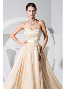 Champagne Sweetheart Cheap Celebrity Club Dresses WD1-021