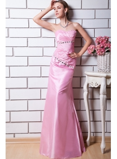 Charming Pink Evening Dresses Petite Long img_0581