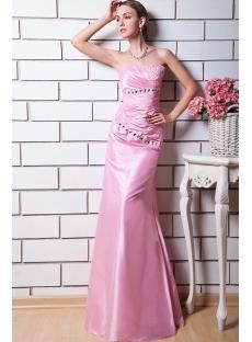 Charming Pink Evening Dresses Petite Long img_0581
