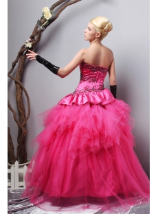 c4672ace2b1 Charming Strapless Long Fuchsia quinceanera dresses Cheap SOV113006 ...