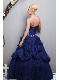 Navy Blue Bridesmaid Dress on Navy Blue Quinceanera Dresses 2013 Long Sov113011 1st Dress Com
