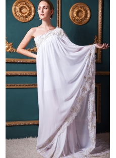 Chiffon 2013 Special Bridal Gowns with Train IMG_1311