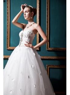 Corset Honorable 2013 Wedding Dress IMG_0348