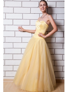 Daffodil Cheap Quinceanera Gown IMG_0776
