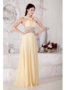 Daffodil Low Back 2013 Prom Dress with Keyhole IMG_7587