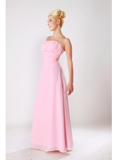 Elegant Chiffon Floor Length 2013 Prom Dress in Pink SOV112010