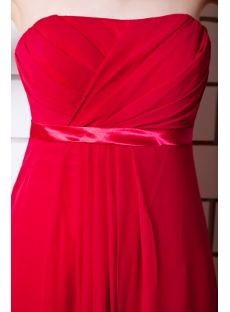 Gorgeous Red Maternity Prom Dresses IMG_0843