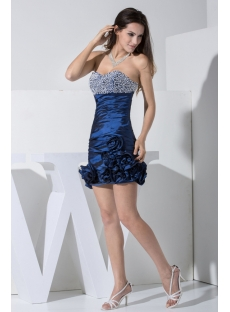 Hunter Mini Sweet 16 Dress with Flower WD1-008