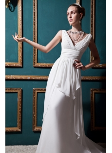 Intellectuality Mature Bridal Gown IMG_0366