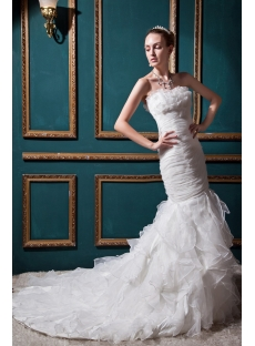 Junoesque Mermaid Wedding Dresses with Sweetheart Neckline IMG_0514