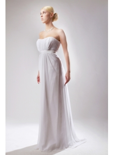 Mild Casual Maternity Bridal Gown Floor Length SOV111001