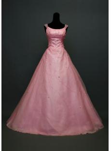 Mordest Scoop Pink Quinceanera Dress 2012 IMG_7218