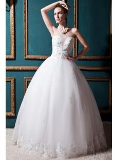 Nectarean Ball Gown Wedding Dress 2012 IMG_0320