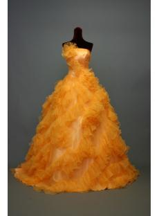Orange New 2013 Quinceanera Dresses IMG_6999