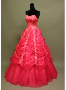 Pretty Quinceanera Dresses Hot Pink IMG_6876
