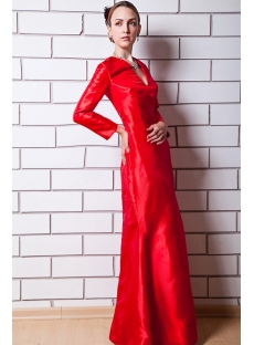 images/201303/small/Red-Long-Sleeves-V-neckline-Mother-of-Bride-Dress-IMG_0649-615-s-1-1362570890.jpg