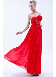 Red Maternity Bridesmaid Dress IMG_9842