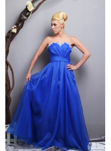 Royal Blue Beautiful Quinceanera Gown Long SOV113012
