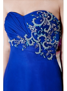Royal Floor Length Chiffon Empire Maternity Dresses for Special Occasions IMG_7386