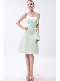 Sage Green Junior Short Bridesmaid Dress IMG_1005