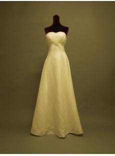 Simple Destination Wedding Dresses with Detachabel Train P8310666