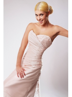 Simple Elegant Pink Wedding Dresses with Sweetheart SOV110036