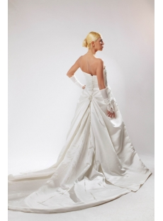 Strapless Western Bridal Gown for Old Lady SOV110022