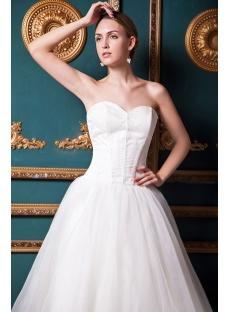 Sweetheart Simple Ivory Long Sweet 16 Dresses Img 1598 1st