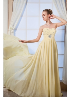Yellow Sweetheart Amazing 2012 Prom Dresses IMG_0025