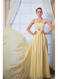 Yellow Sweetheart Amazing 2012 Prom Dresses IMG_0025