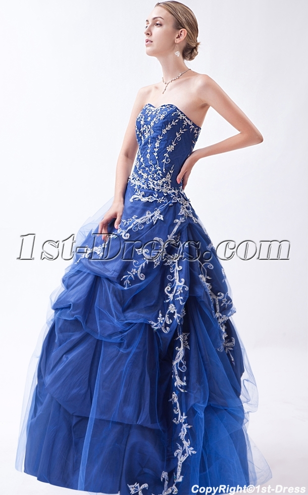 Best Exquisite Emboridery Masquerade Ball Gowns