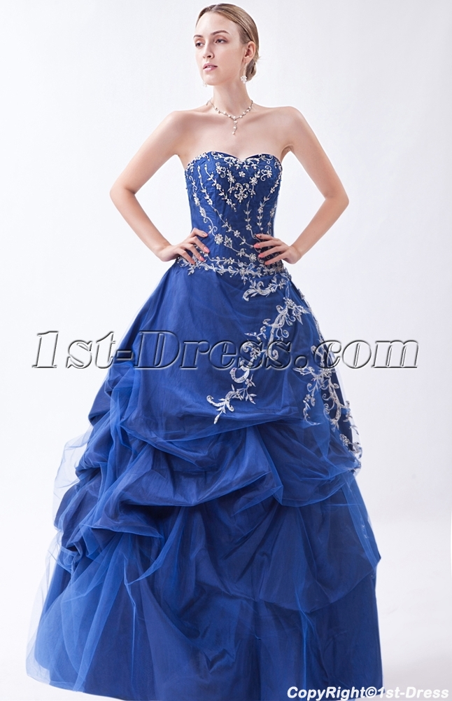 Best Exquisite Emboridery Masquerade Ball Gowns IMG_0898:1st-dress.com
