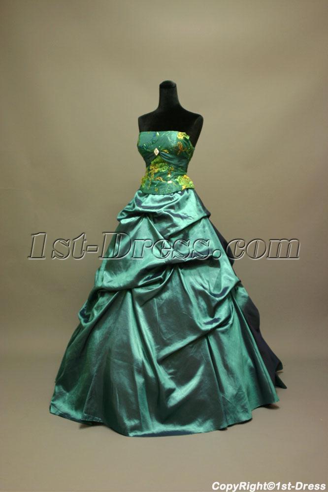 Teal Dama Dresses