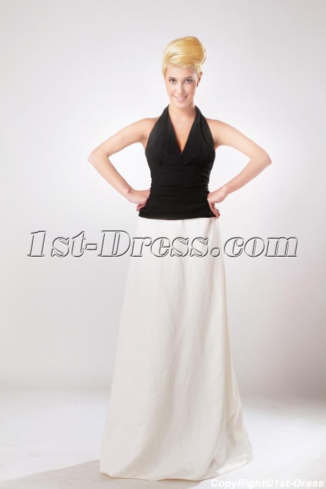 images/201303/big/Black-and-White-2-Tone-Bridesmaid-Dress-with-Halter-Neckline-SOV111010-847-b-1-1364047888.jpg