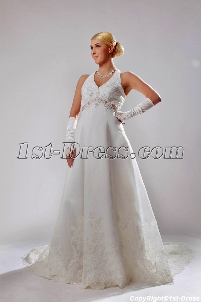 images/201303/big/Brilliant-Satin-Halter-Maternity-maternity-Wedding-Dress-with-Sash-SOV11002-883-b-1-1364364083.jpg