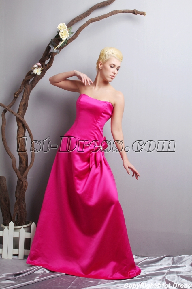 Cheap Junior Prom Dresses in Hot Pink SOV111020:1st-dress.com