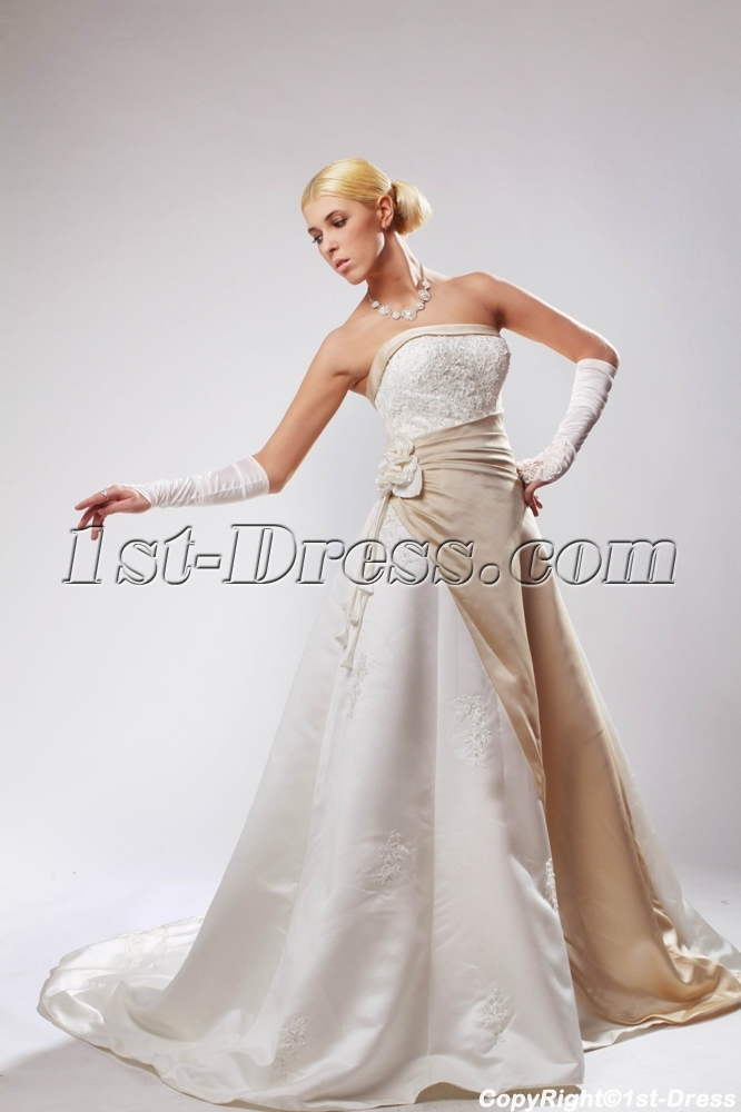 images/201303/big/Elegant-Classic-White-Bridal-Gown-with-Champagne-Trim-SOV110031-893-b-1-1364557676.jpg