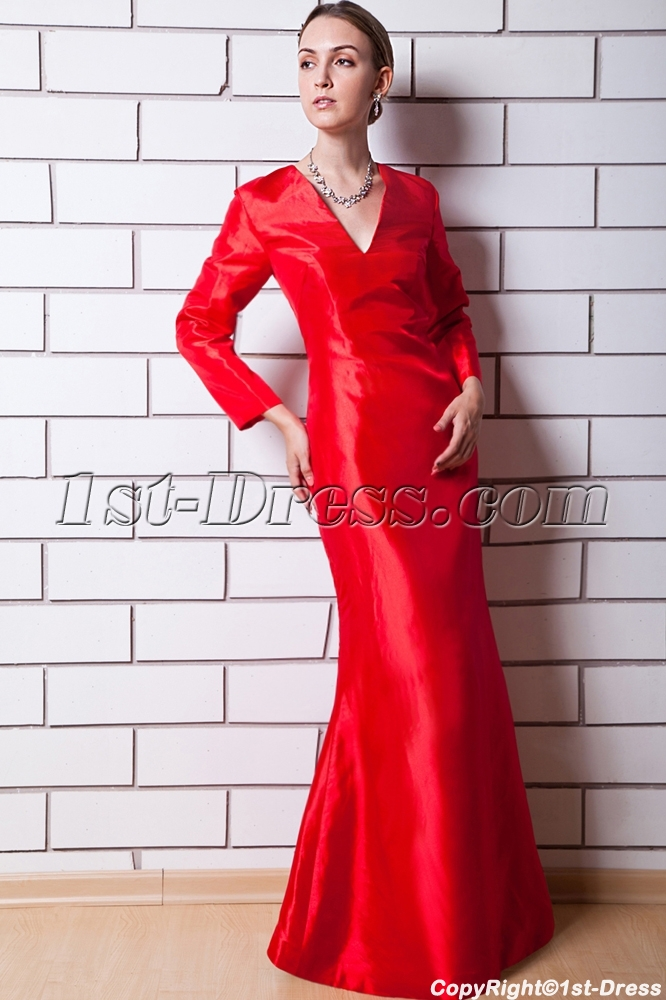 images/201303/big/Red-Long-Sleeves-V-neckline-Mother-of-Bride-Dress-IMG_0649-615-b-1-1362570890.jpg